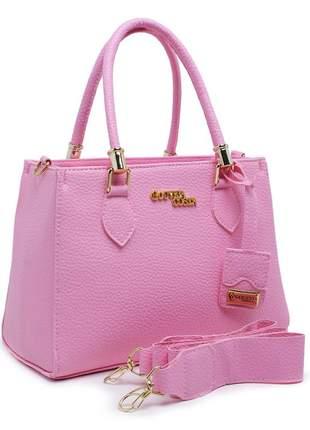 Bolsa lorena luxo alça removível cores lindas promoção