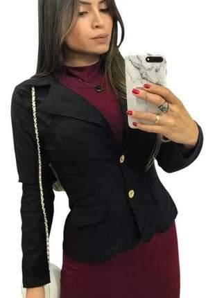 Blazer casaco blusa feminino social casual  lindas cores a pronta entrega