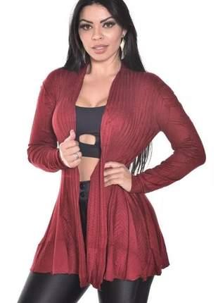 Cardigan kimono  casaso blusa tricot lã feminina outono inverno linha manga longa