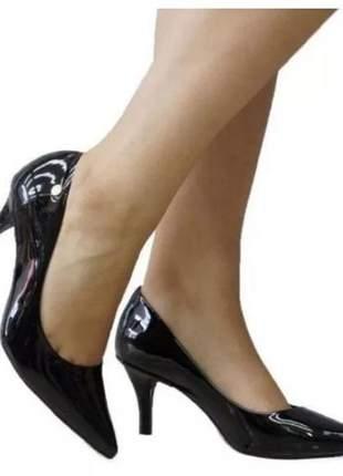 Sapato scarpin vizzano salto médio