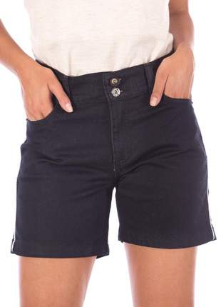 Shorts jeans meia coxa
