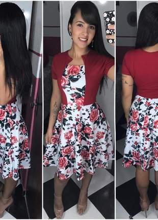 Vestido evangélico roupas femininas gospel godê midi promoção
