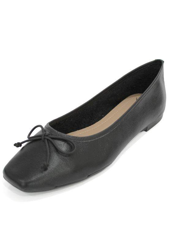 Dalí Shoes / Sapatilha couro dali shoes bailarina preta