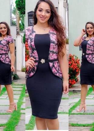 Vestidos feminino social moda evangélica festa luxo lindo promoção
