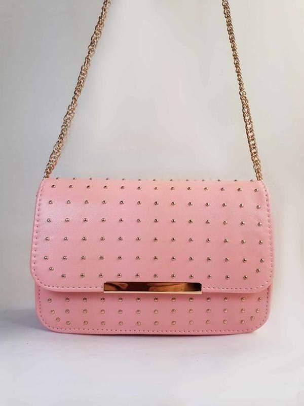 50b9839e4 Bolsa bag marcela rosa - bolsa feminina, tiracolo, casual e festa, couro  ecológico1 ...