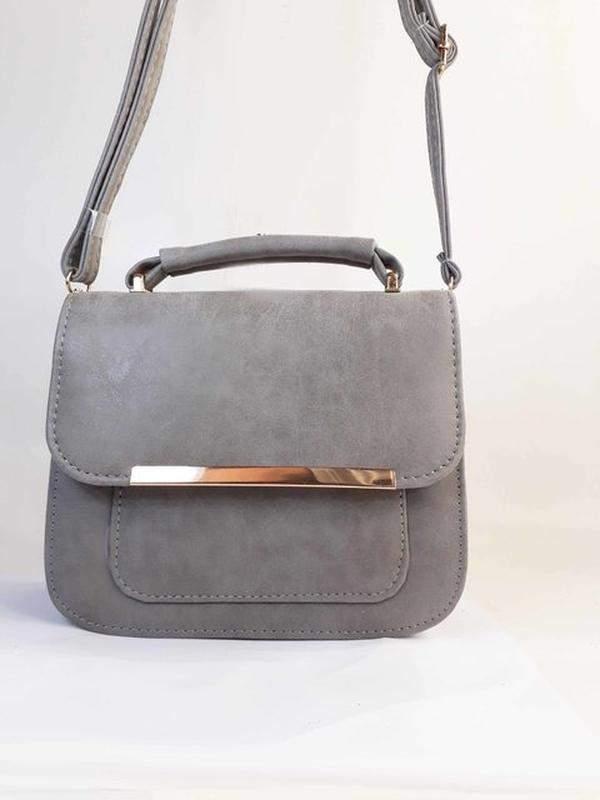 a96151bcb Bolsa bag daniela cinza - bolsa feminina, de mão e tiracolo, casual e  festa1 ...