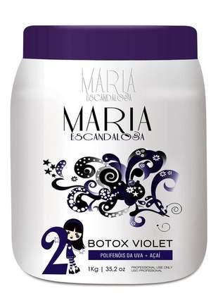 Botox capilar violet 1 kg -  maria escandalosa