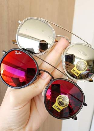 Óculos de sol rayban original a pronta entrega e *frete grátis