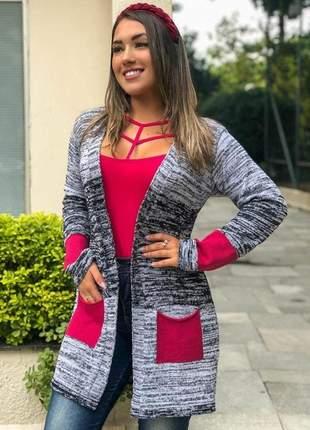 Kimono cardigan tricot ref 601