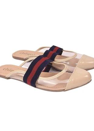 Sapatilha sapato muller feminina
