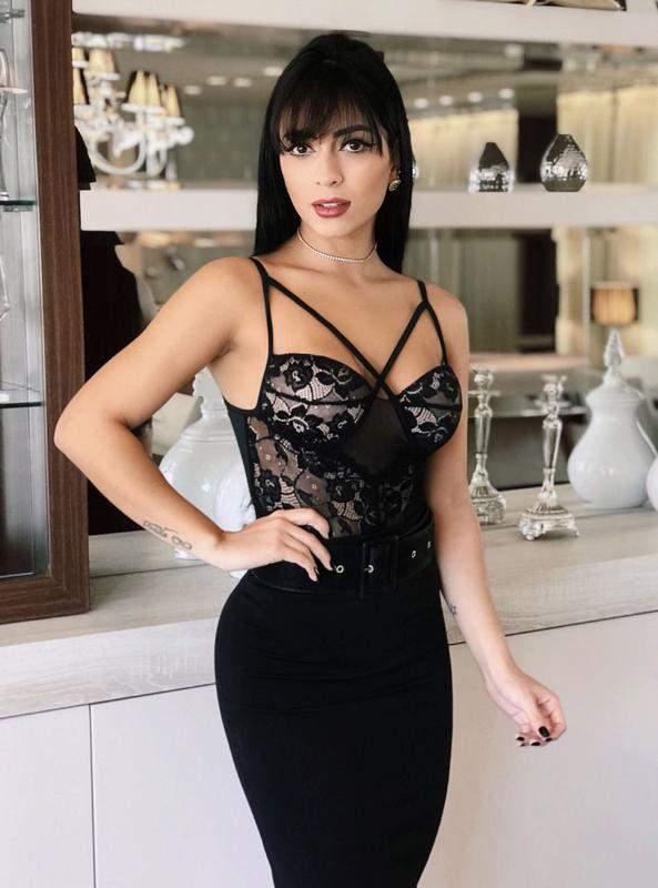 99d25708db Body lingerie renda alça alcinha com bojo - R  99.90 (decotado ...