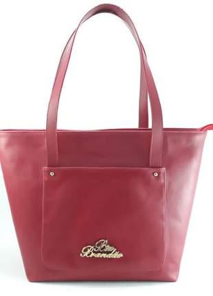 Bolsa sacola grande vermelha lançamento barata