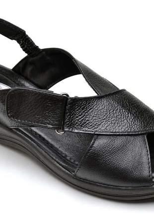 Sandália chinela baixo confort macia ortopédica