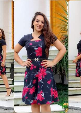 Vestido feminino moda evangélica social qualidade importado novidade promoção