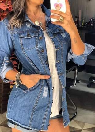 Jaqueta dardak jeans luara