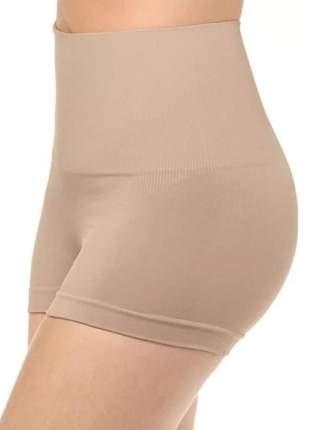 Cinta modeladora shorts p m g gg bege preto