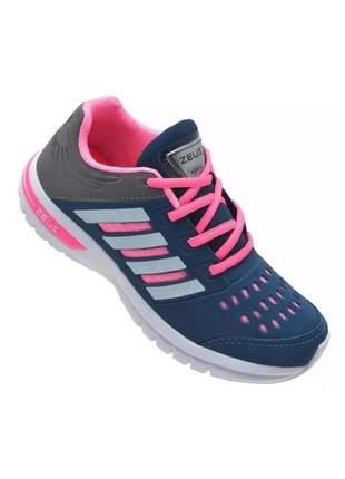 Tênis feminino academia barato esportivo caminhada corrida (confortável)