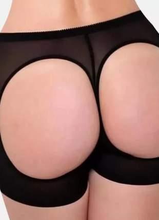 Calcinha shorts empina bumbum power gluteo