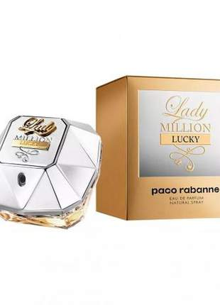 Lady million lucky eau de parfum 50ml feminino original