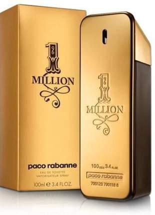 Perfume paco rabanne one million 100ml eau de toilette original