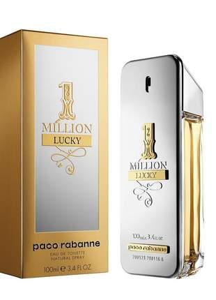 Perfume one milion lucky eau de toilette 100ml original