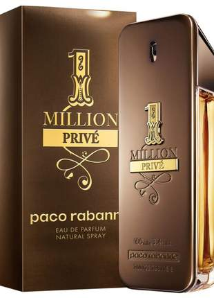 Perfume one 1 million privé eau de parfum 100ml | original