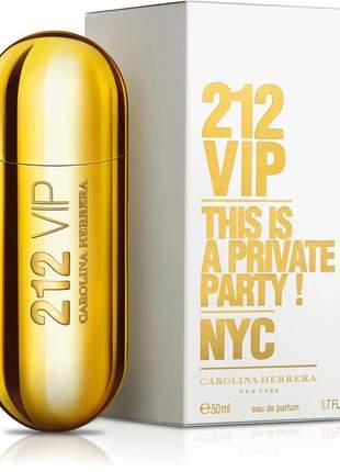 212 vip eau de parfum 50ml feminino   original + lacrado