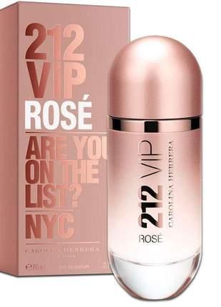 Carolina herrera perfume 212 vip rosé edp 80ml feminino  100% original