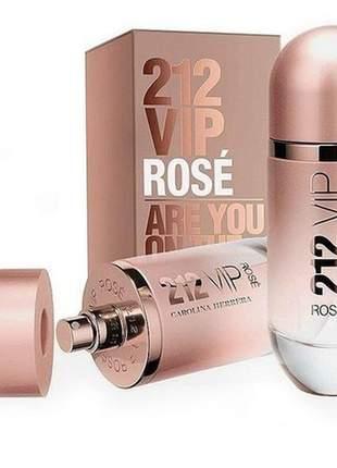 212 vip rosé edp 125ml feminino  original mega oferta
