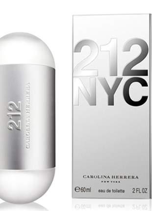 Perfume 212  nyc carolina herrera feminino 60ml original