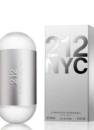 Perfume 212 nyc tradicional 100ml eau de toilette feminino original