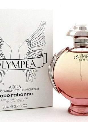 Paco rabanne olympéa aqua 80ml feminino lacrado + original