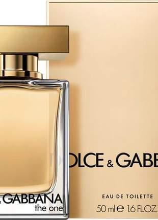 Dolce & gabbana the one edp 50ml feminino + original