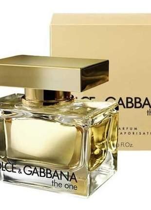The one dolce & gabbana eau de parfum 75ml feminino | original