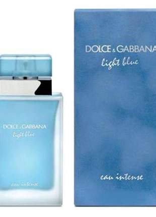 Dolce & gabbana light blue 100ml perfume feminino | original