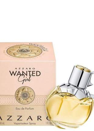Azzaro wanted girl eau de parfum 30ml feminino 100% original