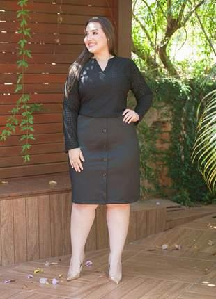 Vestido plus size lesye