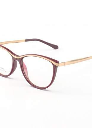 Oculos armação para grau charlotte vermelho