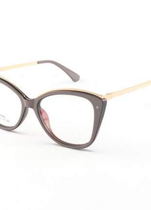 Armacao de óculos feminino bella nude