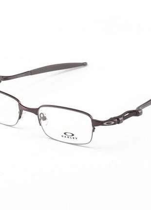 Armacao de óculos oakley coilover ox5043 marrom