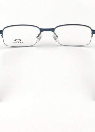 Armacao de óculos oakley coilover ox5043 azul