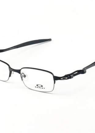 Armacao de óculos oakley coilover ox5043 todo preto