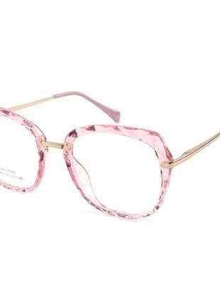 Oculos armação para grau gatinho mila - rosa
