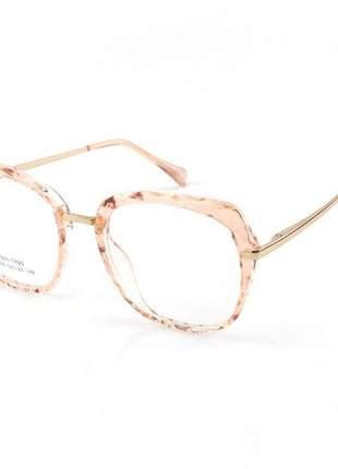Oculos armação para grau gatinho mila - orange