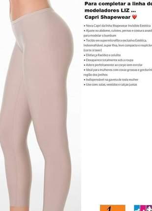 Capri shapewear invisible estética liz