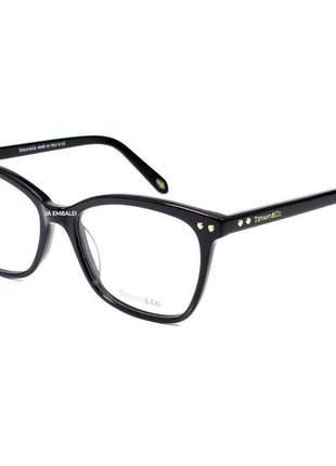 Oculos armação de grau tiffany & co. - tf 2155 coração preto