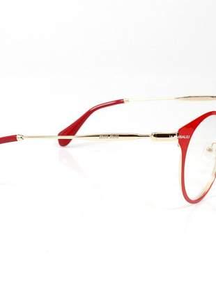Óculos armação de grau - miu miu 51p - vermelho