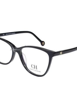 Óculos armação de grau - carolina herrera ch683 - preto