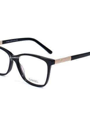 Oculos armação de grau chanel x3365 - preto
