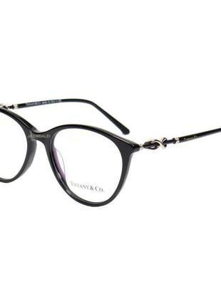 Oculos armação de grau tiffany & co. infinity tf2161 b - preto
